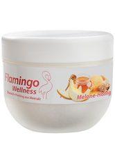 Flamingo Wellness Duschpeeling Meersalz - Melone-Honig, Dose 350 g - FLAMINGO WELLNESS