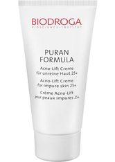 BIODROGA - BIODROGA PURAN FORMULA Acno-Lift Creme 25+ für unreine Haut -  40 ml - TAGESPFLEGE