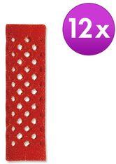 Lockenwickler - Rot, Ø 18 mm, Pro Packung 12 Stück -
