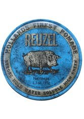 REUZEL - Reuzel Pomade Blue Strong Hold High Sheen - HAARWACHS & POMADE