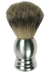 Fantasia Rasierpinsel, Reines Aluminium Rein Dachs Silberspitz, Ø 21,5 mm, Höhe 10 cm