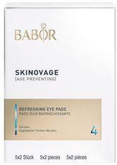 BABOR - BABOR SKINOVAGE Balancing Refreshing Eye Pads - AUGENMASKEN