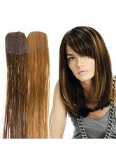 BALMAIN - Balmain Color Flash Tape Extensions 40 cm - Dark Blond (Level 6) & Chocolate Brown - EXTENSIONS & HAARTEILE