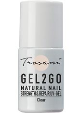 TROSANI - Trosani Gel2Go Natural Nail Strength & Repair UV-Gel - Clear, 10 ml - GEL & STRIPLACK