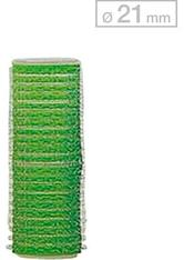 Efalock Professional Friseurbedarf Lockenwickler 13 mm - 48 mm Durchmesser Haftwickler Klein Durchmesser 21 mm, Grün 12 Stk.