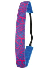 IVYBANDS - Ivybands Anti-Rutsch Haarband - Neon Special Pink Blue / 1,6 cm eit - HAARBÄNDER & HAARGUMMIS