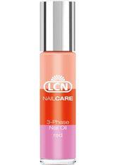 LCN - LCN 3-Phase Oil - Red, für empfindliche Nägel, Inhalt 10 ml - NAGELPFLEGE