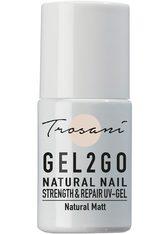 TROSANI - Trosani Gel2Go Natural Nail Strength & Repair UV-Gel - Natural Matt, 10 ml - GEL & STRIPLACK