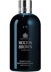 Molton Brown Russian Leather Bath & Shower Gel 300 ml - MOLTON BROWN