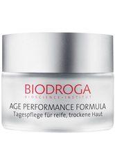 BIODROGA - BIODROGA AGE PERFORMANCE FORMULA Tagespflege für reife, trockene Haut -  40 ml - TAGESPFLEGE