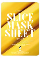KOCOSTAR - Kocostar Slice Mask Sheet Banana - TUCHMASKEN