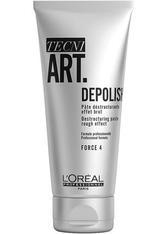 L'ORÉAL PARIS - L'Oréal Professionnel Tecni.Art Wild Stylers Depolish Haarpaste  100 ml - HAARWACHS & POMADE