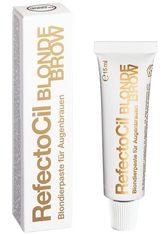 REFECTOCIL - RefectoCil Augenbrauen- und Wimpernfarbe Blond, hellt Augenbrauen um bis zu 3 Stufen auf - nur mit Oxidant 3 % Creme, Bestell-Nr. 02 36 365 verwenden, Inhalt 15 ml - AUGENBRAUEN