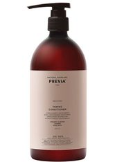 PREVIA Organic Almond & Linseed Oil Taming Conditioner -  1 Liter - PREVIA