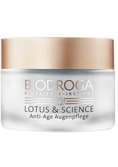Biodroga Anti-Aging Pflege Lotus & Science Anti-Age Augenpflege 15 ml