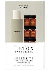 PREVIA - PREVIA Detox Energising Intensive Hairloss Set - GEGEN HAARAUSFALL