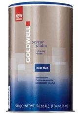 GOLDWELL - Goldwell oxycur platin - oxycur platin dust-free, 500 g - HAARFARBE