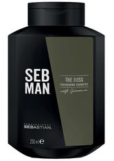 SEB MAN - Sebastian SEB MAN The Boss Thickening Shampoo 1 Liter - SHAMPOO & CONDITIONER
