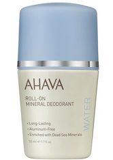 AHAVA - Ahava Mineral Deo Roll-on for Woman 50 ml - Deodorant - DEODORANT