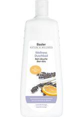 Basler Wellness Duschbad Lavendel-Orange - Sparflasche 1 Liter - BASLER