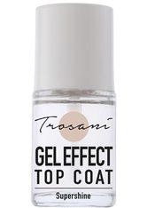 TROSANI - Trosani PERFECT NAILS GEL EFFECT Top Coat -  15 ml - BASE & TOP COAT