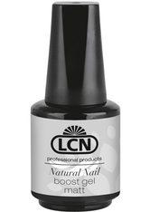 LCN - LCN Natural Nail Boost Gel - Matt, 10 ml - BASE & TOP COAT