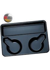 Efalock Färbetablett Standard schwarz Friseurzubehör