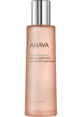 AHAVA - AHAVA Deadsea Plants Dry Oil Body Mist mandarin & cedarwood - BODYSPRAY
