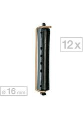 Efalock Dauerwellwickler kurz Schwarz/Grau Ø 16 mm, Pro Packung 12 Stück