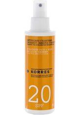 KORRES Yoghurt Sunscreen Face & Body Emulsion - KORRES