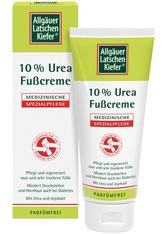 Allgäuer Latschenkiefer Produkte Allgäuer Latschenkiefer 10 % Urea Fußcreme Hand-Fuß-Pflege 100.0 ml