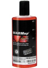 DR. DAGMAR LOHMANN - WARMUP Erdbeer Massageöl 150 ml - KÖRPERCREME & ÖLE
