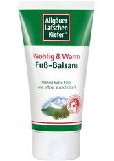 Allgäuer Latschenkiefer Produkte Allgäuer Latschenkiefer Fuß Balsam Wohlig & Warm Fusspflege 75.0 ml