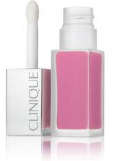 CLINIQUE - Clinique Make-up Lippen Pop Liquid Matte Lip Colour + Primer Nr. 06 Petal Pop 6 ml - Liquid Lipstick