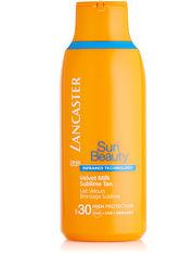 Lancaster Sonnenpflege Sun Care Sun Beauty Velvet Milk Sublime Tan SPF 30 175 ml