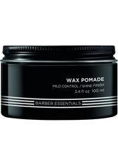 Redken - Brews Wax Pommade  - Glanz Pomade - 100 Ml -
