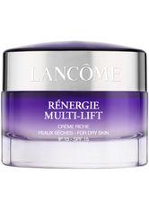LANCÔME - Lancôme Gesichtspflege Anti-Aging Rénergie Multi-Lift Crème Crème Riche 50 ml - TAGESPFLEGE