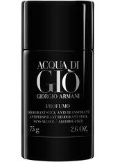 GIORGIO ARMANI - Giorgio Armani Acqua di Giò Homme Profumo Alcohol-Free Antiperspirant Deodorant Stick 75 g - DEODORANT