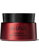AHAVA - AHAVA APPLE OF SODOM Overnight Deep Wrinkle Mask 50 ml - CREMEMASKEN