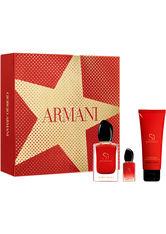GIORGIO ARMANI - Giorgio Armani - Si Passione - Parfum-Set - 50ml+50ml+7ml - - DUFTSETS