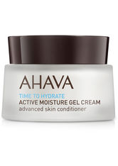 Ahava - Time To Hydrate Active Moisture Gel Cream  - Gesichtsgel - 50 Ml -