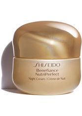SHISEIDO - Shiseido Gesichtspflege Benefiance NutriPerfect NutriPerfect Night Cream 50 ml - NACHTPFLEGE