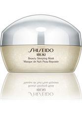 SHISEIDO - Shiseido Gesichtspflege Ibuki Beauty Sleeping Mask 80 ml - Crememasken