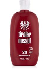 TIROLER NUSSÖL - TIROLER NUSSÖL orig.Sonnenmilch wasserf.LSF 20 - SONNENCREME