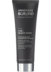 ANNEMARIE BÖRLIND BEAUTY MASKS 2 in 1 Black Mask Reinigungsmaske 75.0 ml