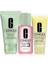 Clinique 3-Phasen-Systempflege Hauttyp 3 & 4 Gesichtspflegeset 30ml+30ml+15ml 1