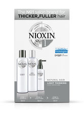 Wella Nioxin System 1 3-Step-System Set Cleanser Shampoo 150 ml + Scalp Therapy Revitalising Conditioner 150 ml + Scalp & Hair Treatment 50 ml 1 Stk.