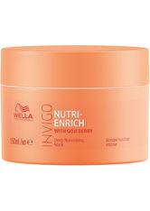 Wella Professionals - Invigo Nutri-Enrich Deep Nourishing  - Haarmaske - 150 Ml -