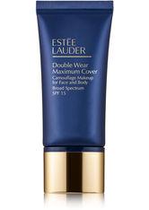 Estée Lauder Double Wear Maximum Cover Camouflage Makeup for Face and Body SPF15 1C1 Cool Bone 30 ml Flüssige Foundation