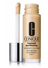 CLINIQUE - Clinique Beyond Perfecting 2-in-1: Foundation + Concealer Flüssige Foundation  30 ml CN 58 Honey - Foundation